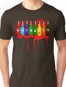 Perks all lined up and bloody Unisex T-Shirt