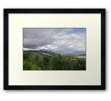 Along The Glenn III Framed Print