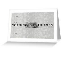 Nothing But Thieves logo grey Greeting Card