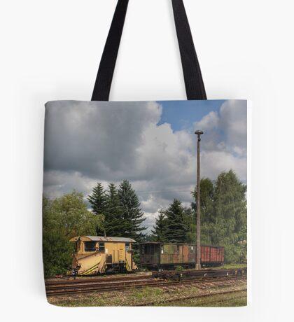 Cranzahl Station - The Snowplow Tote Bag