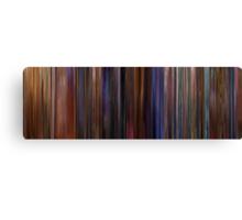 Moviebarcode: Eyes Wide Shut (1999) Canvas Print
