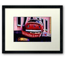 """""""Red Herring"""" Framed Print"""