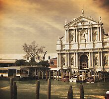 Church at Venice by Sunil Bhardwaj