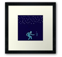 Yeats catches Falling Star Framed Print
