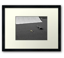 Follow your path Framed Print