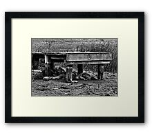 Empty - Belmont Geelong Framed Print