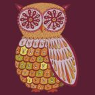 Super Owl T-shirt by Thaneeya McArdle