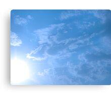 Sunny Blue Skys-Kansas Canvas Print