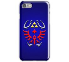 Link's shield Hylian Shield iPhone Case/Skin
