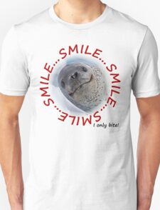 Smile...I only Bite! Unisex T-Shirt
