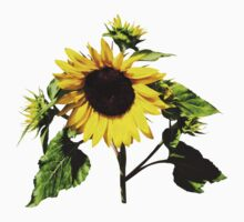 Sunflower Taking a Bow Kids Clothes