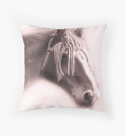 Beautiful Equine Throw Pillow