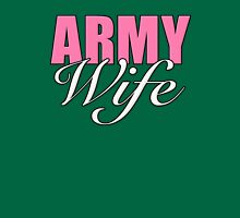 Army Wife Womens Fitted T-Shirt