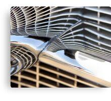 Cadillac Chrome Metal Print