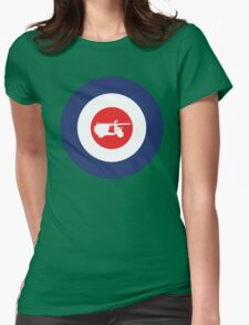 Vespa 150 T.A.P. Mod Culture Womens Fitted T-Shirt