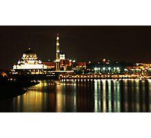 Putrajaya Night Cityscape Photographic Print