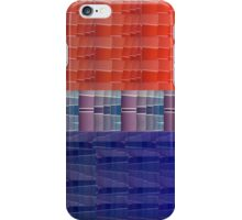 Paint Sample Bi Pride flag iPhone Case/Skin