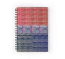 Paint Sample Bi Pride flag Spiral Notebook