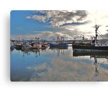 Newport Bay.....Newport, Oregon Canvas Print