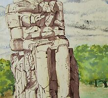 The Colossus of Memnon by Dorothy ROWNTREE