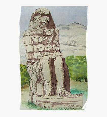 The Colossus of Memnon Poster