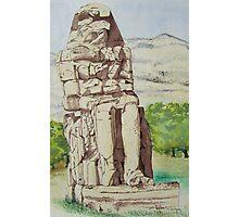 The Colossus of Memnon Photographic Print