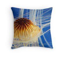 Sea Yolk Throw Pillow