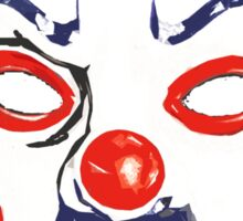 Joker Mask T-shirt Sticker