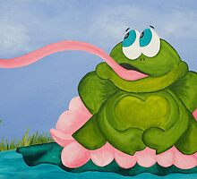 The Frog and the Fly by Jennifer Gibson