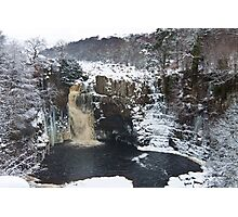 Snowy High Force Photographic Print