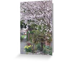 Spring in Crown Hill Greeting Card