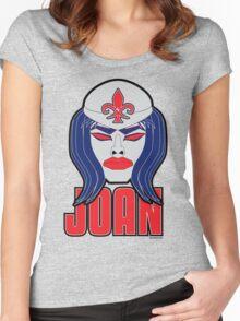 Joan of Arc - Legendary Warriors series Women's Fitted Scoop T-Shirt