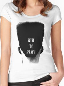 Kid N Play T-shirt Women's Fitted Scoop T-Shirt