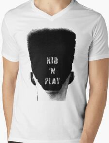 Kid N Play T-shirt Mens V-Neck T-Shirt