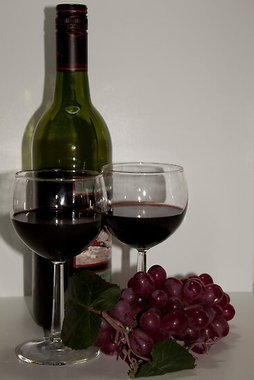 Wine for Two by Sherry Hallemeier