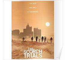 The Maze Runner The Scorch Trials Novel  Poster