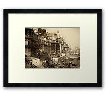 Varanasi 2010 Framed Print