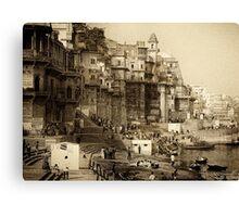 Varanasi 2010 Canvas Print