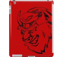 Shadaloo Bison Gray iPad Case/Skin