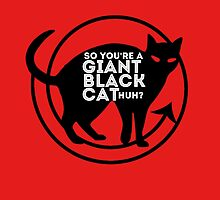 Giant Black Cat - Carmilla Series ; by dolphinvera