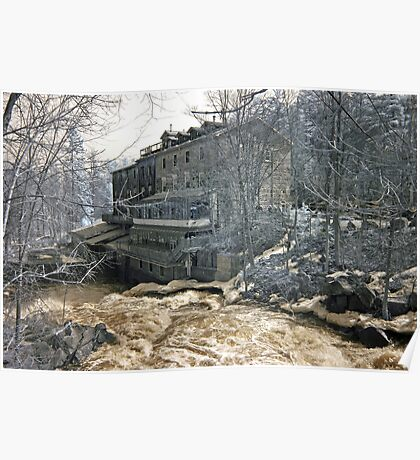The Old Mill - Wakefield Quebec Poster