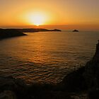 Cornwall: Sunset over the Rumps by Rob Parsons