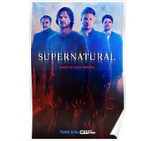 Supernatural Season 9 Promo Poster