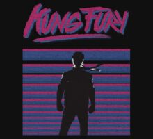Kung Fury T-shirt by star-warrior