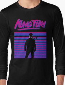 Kung Fury T-shirt Long Sleeve T-Shirt