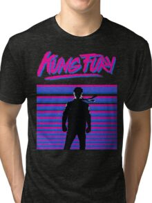 Kung Fury T-shirt Tri-blend T-Shirt
