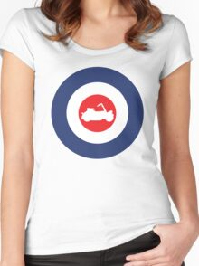 Vespa Paperino Mod Culture Women's Fitted Scoop T-Shirt
