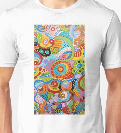 Quantum Strands (high resolution) Unisex T-Shirt