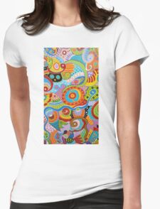 Quantum Strands (high resolution) Womens Fitted T-Shirt