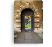 Gateway to Narnia Canvas Print
